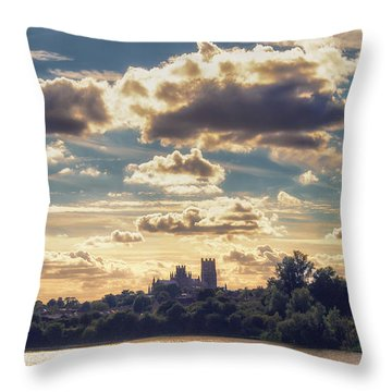 Throw Pillow featuring the photograph Afternoon Sun by James Billings