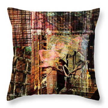 Afternoon Tea Throw Pillow by Don Gradner