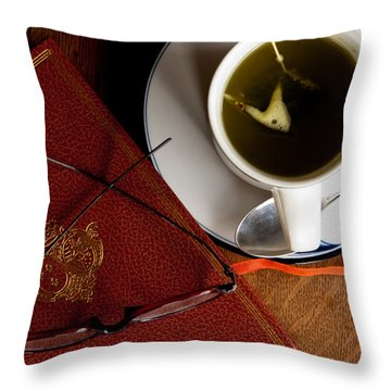 Throw Pillow featuring the photograph Afternoon Tea by Erin Kohlenberg