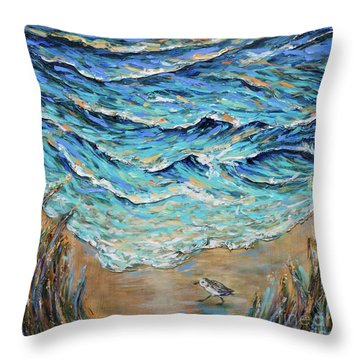 Afternoon Tide Throw Pillow