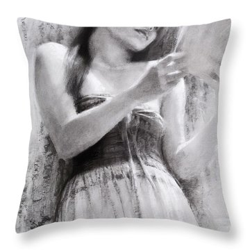 Afternoon With A Book Throw Pillow