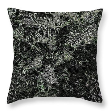 Afterthoughts  Throw Pillow by Rachel Hannah
