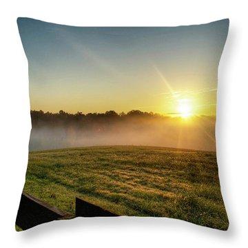 Afton Va Sunrise Throw Pillow