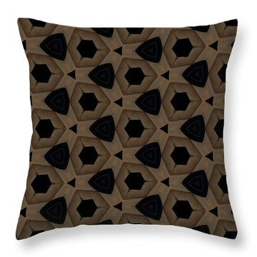 Agate Dimensions Throw Pillow