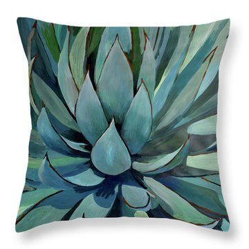 Agave Americana Throw Pillow by Geoff Greene
