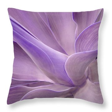 Agave Attenuata Abstract 2 Throw Pillow