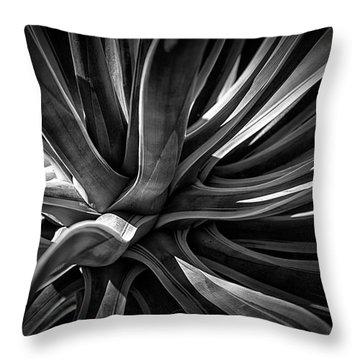 Agave Burst Throw Pillow
