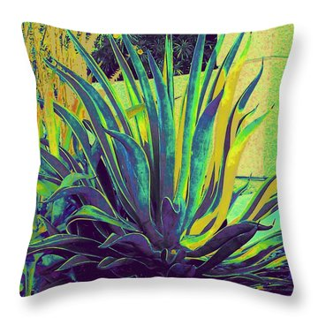 Agave Maria Throw Pillow