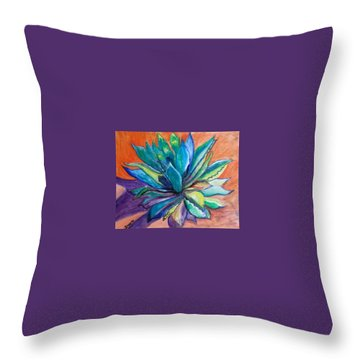 Agave State Of Mind Throw Pillow