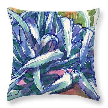 Agave Tangle Throw Pillow