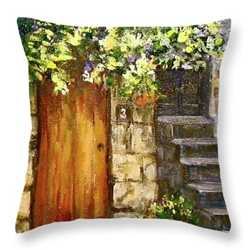 Age Cannot Wither Her Throw Pillow
