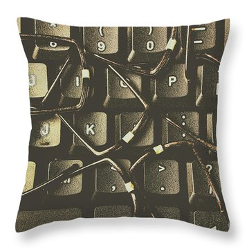Age Of Decentralisation Throw Pillow