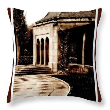 Aged By Time Throw Pillow