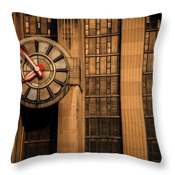 Aged In Time Throw Pillow