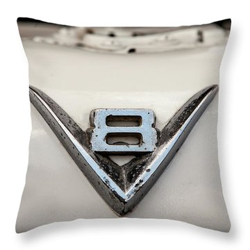 Aged V8 Throw Pillow