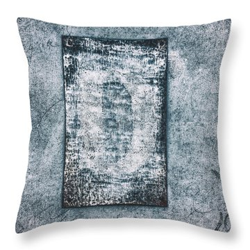 Aged Wall Study 3 Throw Pillow