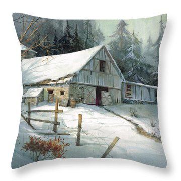 Ageless Beauty Throw Pillow