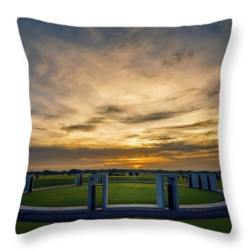 Aggie Bonfire Memorial Throw Pillow