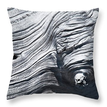 Aging Of Time Throw Pillow