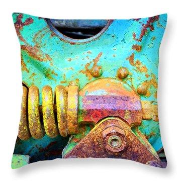 Aging Vividly Throw Pillow
