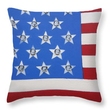 Agitate Throw Pillow