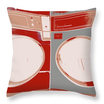 Agitated Throw Pillow
