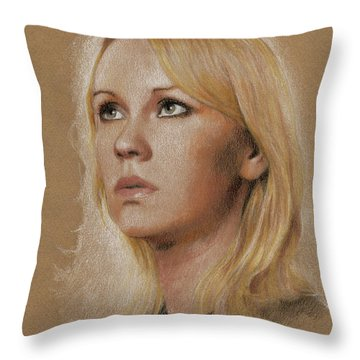 Agnetha Throw Pillow