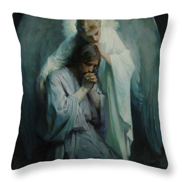 Agony In The Garden, 1898 Throw Pillow