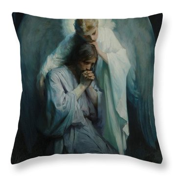 Agony In The Garden  Throw Pillow