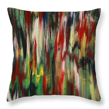 Agony Throw Pillow by Jacqueline Athmann