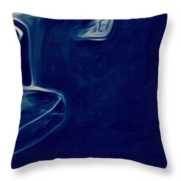 Agony Of The Outside World 2 Throw Pillow