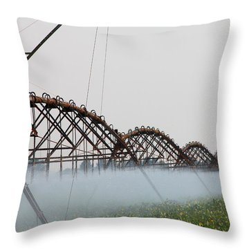Agriculture - Irrigation 3 Throw Pillow