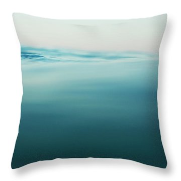 Agua Throw Pillow