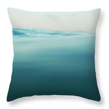Agua Throw Pillow