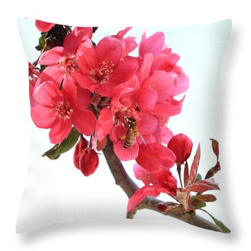 Ah The Beautiful Smell Throw Pillow