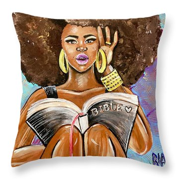 Aha Moment Throw Pillow