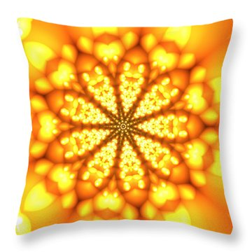 Ahau 9 Throw Pillow