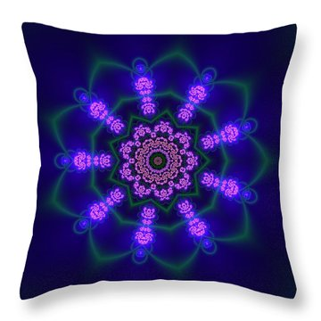 Ahau 9.1 Throw Pillow