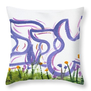 Ahava Nf20-145 Throw Pillow