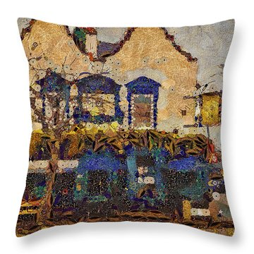 Ahh Bistro Throw Pillow