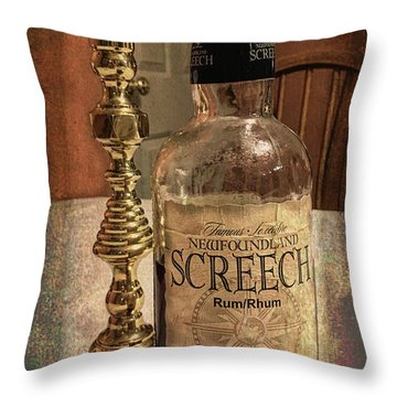 Throw Pillow featuring the photograph Ahhh, Yes by Guy Whiteley