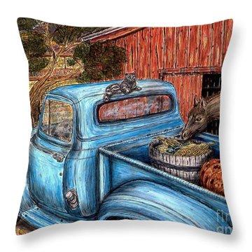 Ahh...the Good Life Throw Pillow