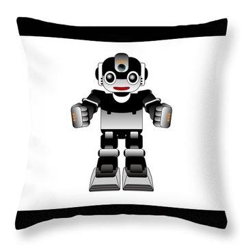 Ai Robot Throw Pillow