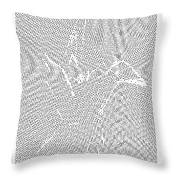 Aibird Throw Pillow