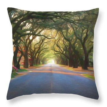 Aiken South Boundary II Throw Pillow
