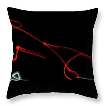 Aikido - Iriminage, Omote Throw Pillow