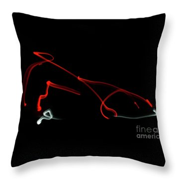 Aikido - Iriminage, Omote Throw Pillow
