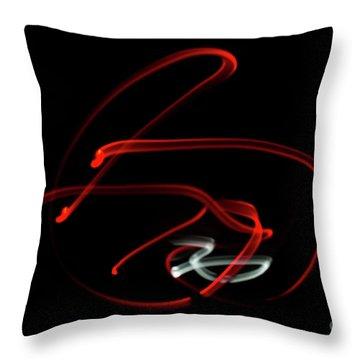 Aikido - Kaitenage, Omote Throw Pillow