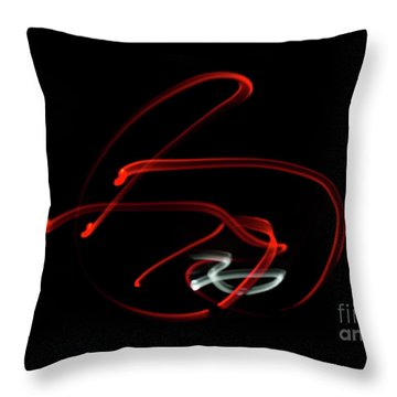 Aikido - Kaitenage, Omote Throw Pillow