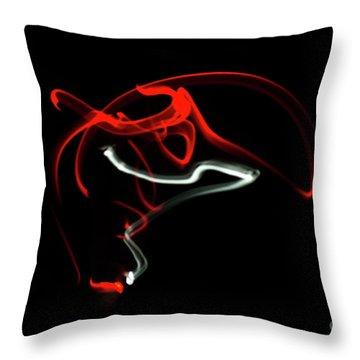 Aikido - Nikyo, Omote Throw Pillow